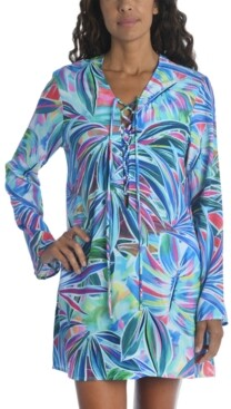 La Blanca Printed Tunic Cover-Up Women's Swimsuit