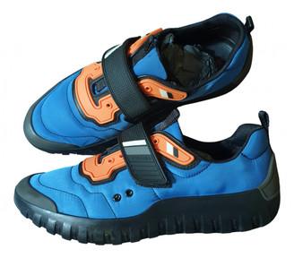 Prada Blue Cloth Trainers