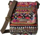 Sakroots Artist Circle Small Flap Messenger Cross Body Handbags