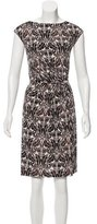 Tory Burch Ornate Print Silk Dress
