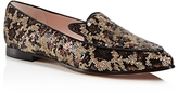 Kate Spade Caty Sequin Leopard Print Loafers
