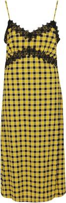 MICHAEL Michael Kors Lace Detailed Slip Dress