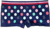 Maidenform Snow-Print Minishort Underwear, Little Girls (4-6X) and Big Girls (7-16)