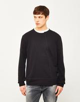 Nudie Jeans Simon Sweatshirt Black