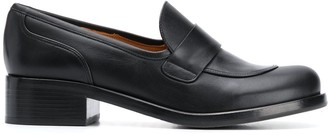 Chie Mihara Slip-On Round Toe Loafers