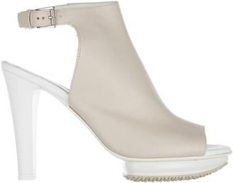 Hogan Buckle Platform Sandals