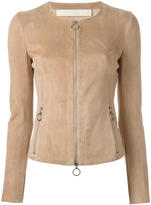 Drome zipped leather jacket - women - Lamb Skin - S