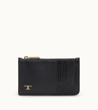 Tod's Credit Card Holder in Leather Medium