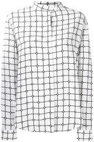 Courreges 'Grid' shirt - women - Viscose - 40