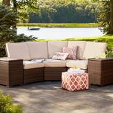 Threshold Halsted Wicker Patio Armless Sectional Seat