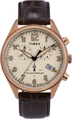 Timex 42mm Waterbury Chrono Strp Wch