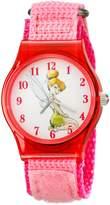 Disney Kids' W001706 Tinker Bell Analog Display Analog Quartz Pink Watch