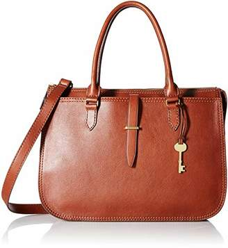 Fossil Women's Ryder Leather Large Satchel Handbag