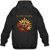 Sune Men's Supernatural American Tv Series Hoody