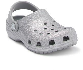 Crocs Classic Glitter Clog (Baby, Toddler & Little Kid)