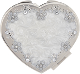 Monsoon Diamante And Pearl Heart Mirror