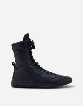 Dolce & Gabbana Buckskin Ankle Boots