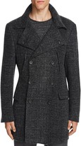 hickey by Hickey Freeman Felted Wool Houndstooth Topcoat