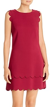 Betsey Johnson Scalloped Shift Dress