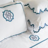 The Well Appointed House Ibiza Scalloped Bedding Collection