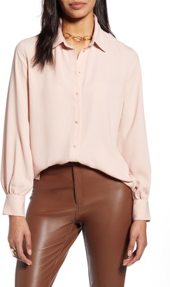 Halogen Tunic Blouse