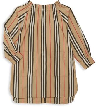 Burberry Little Girl's & Girl's Stripe Tunic Dress