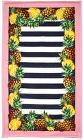 Dolce & Gabbana Pineapple Printed Cotton Beach Towel