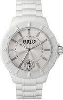 Versus By Versace Unisex Tokyo White Silicone Strap Watch 42mm SOY020015