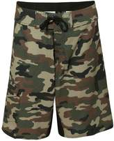 Burnside Camo-Diamond Dobby Board Shorts.B9371