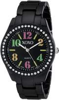 XOXO Women's XO5485 Rhinestone Accent Analog Bracelet Watch