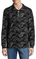 Tommy Bahama Fez Fronds Fleece Mock Pullover
