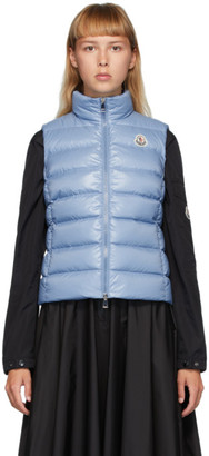 Moncler Blue Down Ana Vest