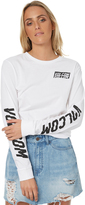 Volcom Simply Stoned Ls Tee White