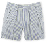 Ralph Lauren Boy Cotton Seersucker Short