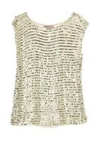 Calypso St. Barth Rishta Sequin Crochet Sweater