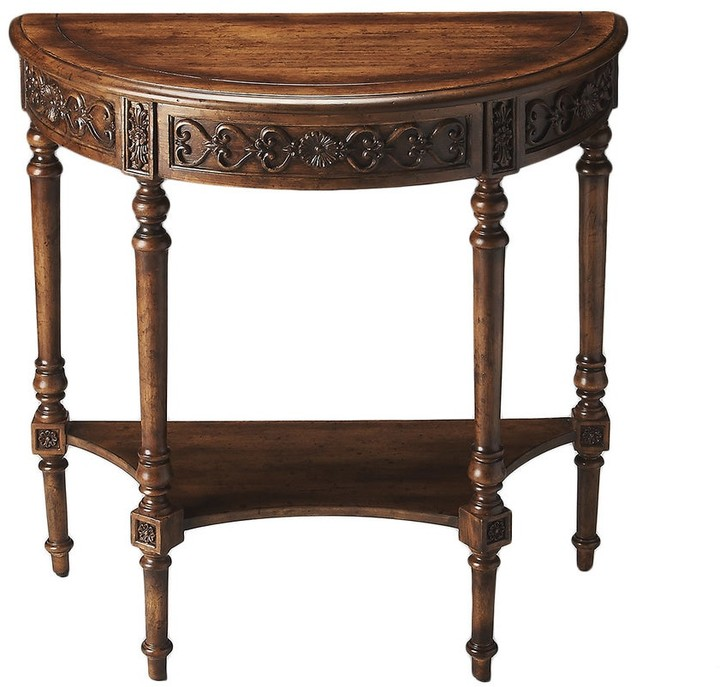 Thumbnail for your product : Butler Hand-painted Dark Toffee Console Table
