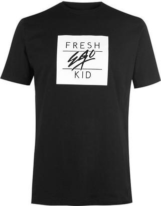 Fresh Ego Kid Mens Box Logo T Shirt