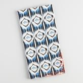 Blue Ikat Ogee Napkins Set of 4
