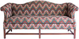 One Kings Lane Vintage Chippendale-Style Camelback Sofa