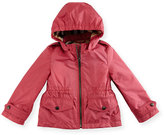 Burberry Halle Hooded Jacket, Pink, Size 6M-3