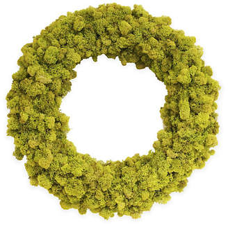"Knud Nielsen Company 18"" Reindeer-Moss Wreath - Dried"