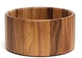 Lipper Acacia Straight Side Salad Bowl