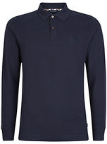 Aquascutum Hilton Long Sleeve Polo Shirt