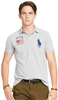 Polo Ralph Lauren Custom-Fit USA Mesh Polo