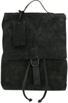 Marsèll tag detail backpack - women - Suede - One Size