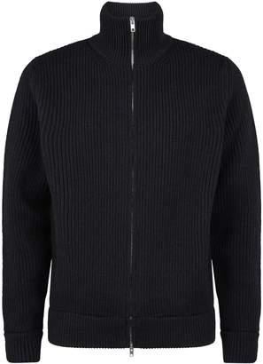 Maison Margiela Wool Zipped Cardigan