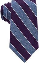 Club Room Men's Heather Stripe Tie, Only at Macy's