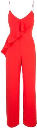 Alice + Olivia Keeva ruffled jumpsuit