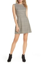 French Connection Amati Check Sundae Sleeveless A-Line Dress