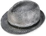 Le Chapeau metallic hat - women - Acrylic/Paper Yarn - 57